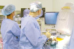 脊髄内視鏡(PELD)