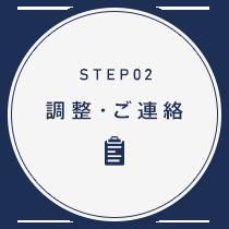 step2 調整・ご連絡